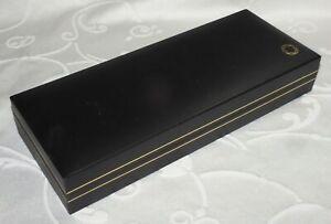 FINE MONTBLANC FOUNTAIN PEN PROTECTIVE CASE BOX (P)