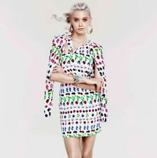 Versace Dress for H&M Cruise Collection Iconic Fruit Butterfly Print US 6 EU 36