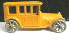 "Vintage Tootsietoy Car 2"" #4528 Orange Limousine Mfg 1911-1928 Nice Condition"