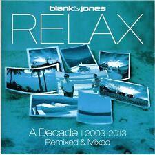 Blank & Jones - Relax: Decade 2003 - 2013 Remixed & Mixed [New CD] UK - Import