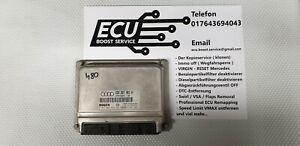 Motosteuergerät ECU Bosch 0281001834, 8D0907401H, EDC 15 - IMMO OFF*