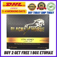 24x New Black Horse Honey Extract Original Limited Stock BUY 2 box FREE 1 box