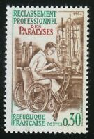 France 1964 MNH  Mi 1461 Sc 1083 Rehabilitation of the handicapped **