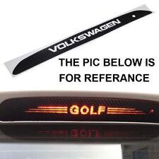 1 Pcs Carbon Fiber Style High Brake Light Logo Sticker For GOLF MK6 POLO TIGUAN
