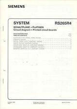 Siemens Service schemi + schede rs265r4 b1342