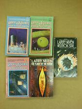 Lot of 5 - Sience Fiction Novels all by Larry Niven - GALACTIC Alien UFO