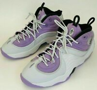 Nike Air Penny II GS White/Lilac Purple 820249-009, Kids Size 7Y or Ladies 8.5