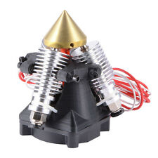 New 3 in 1 Out Multi-Color Extruder Hotend with Cool Fan for Reprap 3D Printer