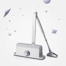 Professional Commercial Door Closer 35-45 kg Silver Aluminium Alloy