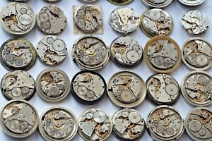 Watch parts movements Set 70 Russian men's 22 -26 mm steampunk art DIY