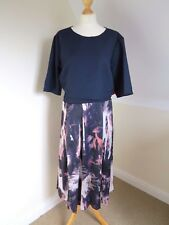 New with tags Little Mistress Curvy Evening, Party Dress, Navy Size 26