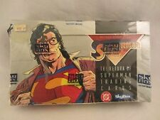 Skybox - The Return of Superman Trading Cards 1993 Factory Sealed Box  (217EC)