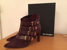 Boots The Kooples Bordeaux Cuir 40