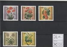 Palestina postfris 1996 MNH 57-61 - Bloemen / Flowers