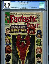 Fantastic Four #54 CGC 8.0 VF 1966 Marvel Comic Amricons K18