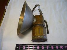 Super Large Vintage Justrite Coal Miners Carbide Lamp