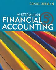 Australian Financial Accounting by Craig Deegan (Paperback, 2007)