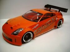 Custom Painted Body NISSAN 350Z GREDDY for 1/10 RC Drift Cars Touring HPI 200mm