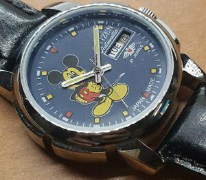Rare Vintage Citizen Automatic Movement 8200A Japan Mens Wrist Watch