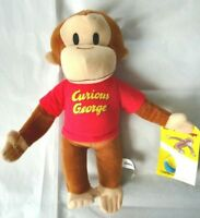 New GUND Curious George Monkey Plush Stuffed Animal Toy