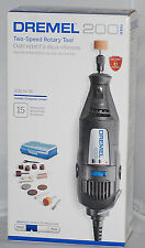 NEW Dremel 200-N/15 0.9 Amp 2-Speed Corded Rotary Tool Kit with 15 Accessories