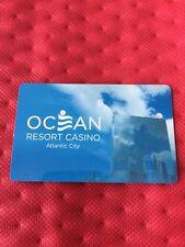 Ocean Resort Casino Room Key Card, Atlantic City