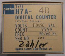 OMRON H7A-4D Digital Counter Zähler NEU OVP