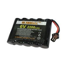 6V 2200mAh Ni-MH Rechargeable Battery Pack Cell Connector Toy RC Ultracell