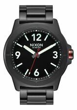 NIXON CARDIFF Men's 44 MM Stainless Steel Watch A952001-00 NEW! USA SELLER!