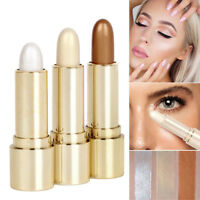 Makeup Highlight & Contour Stick Face Body Concealer Powder Shimmer Cream Beauty