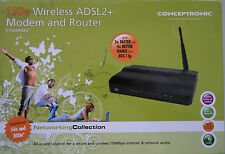 Conceptronic Wireless ADSL2  Modem and Router