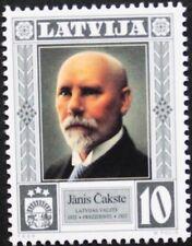Presidents Latvia stamp, Janis Cakste, (1922-1927) 1998, SG ref: 512, MNH