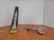 Sechziger Jahre Tin Friction Space Rakete Spielzeug lemezaru gyar Holdraketa Ungarn NOS