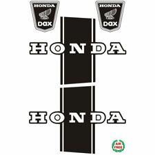 Bauchbinde + Emblemset für Honda Dax ST CT 50 70 schwarz