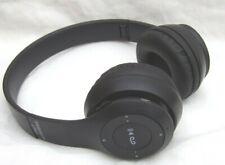 P47 Foldable Wireless Bluetooth Stereo Headset Handsfree Black Headphones FM MP3