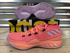 Adidas SM Crazy Explosive Low RS Basketball Shoes Orange Pink White SZ (AQ0981)