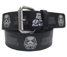 Disney Star Wars Storm Trooper Kids Black Belt S/M New w/Tag Hanger
