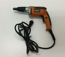 RIGID R6000-1 Corded Heavy Duty VSR Drywall Screwdriver 6.5 amp Used