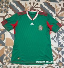 MEXICO NATIONAL TEAM 2010 2012 HOME FOOTBALL SOCCER SHIRT JERSEY ADIDAS MEN