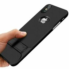 Shockproof Kick Stand Hard Soft Back Case For Apple iPhone 6 6s 7 8 Plus X XS