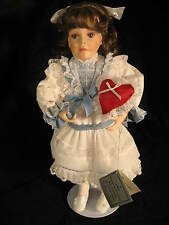 "Porcelain Collector Doll  ""Christina"" by Jan Garnett  from the Danbury Mint 1994"