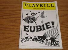 Playbill Eubie Ambassador Theatre 1979