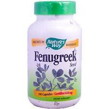 Nature's Way, Fenugreek Seed, 610 mg (180 caps)