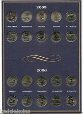 State Quarter 2004 - 2008 Coin Collection & Folder Album - USA America - KQ383