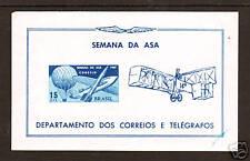 Brazil Sc 1062a Mnh. 1967 Week of the Wing Souvenir Sheet