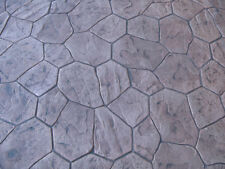 New Random Stone/Rock Decorative Concrete Cement Imprint Texture Stamp Mat Rigid