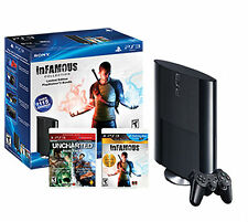 Sony PlayStation 3 Combo Pack 250GB Black Console