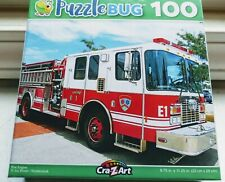 New 100 Piece Jigsaw Puzzle (Fire Engine) Great for Kids and Adults!