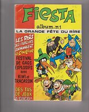 Fiesta album n°1 (Pim Pam Poum n°47 et 48 + n°1 de Fiesta) 1973/1974