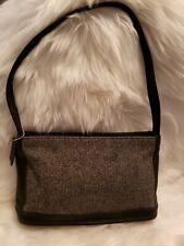 Vintage Coach Black And White Wave Pattern Shoulder Bag